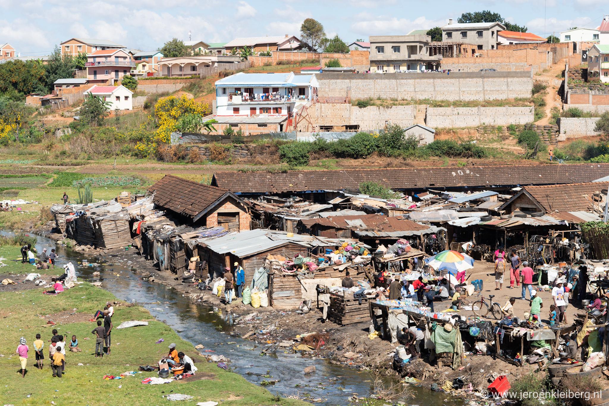 Madagaskar sloppenwijk