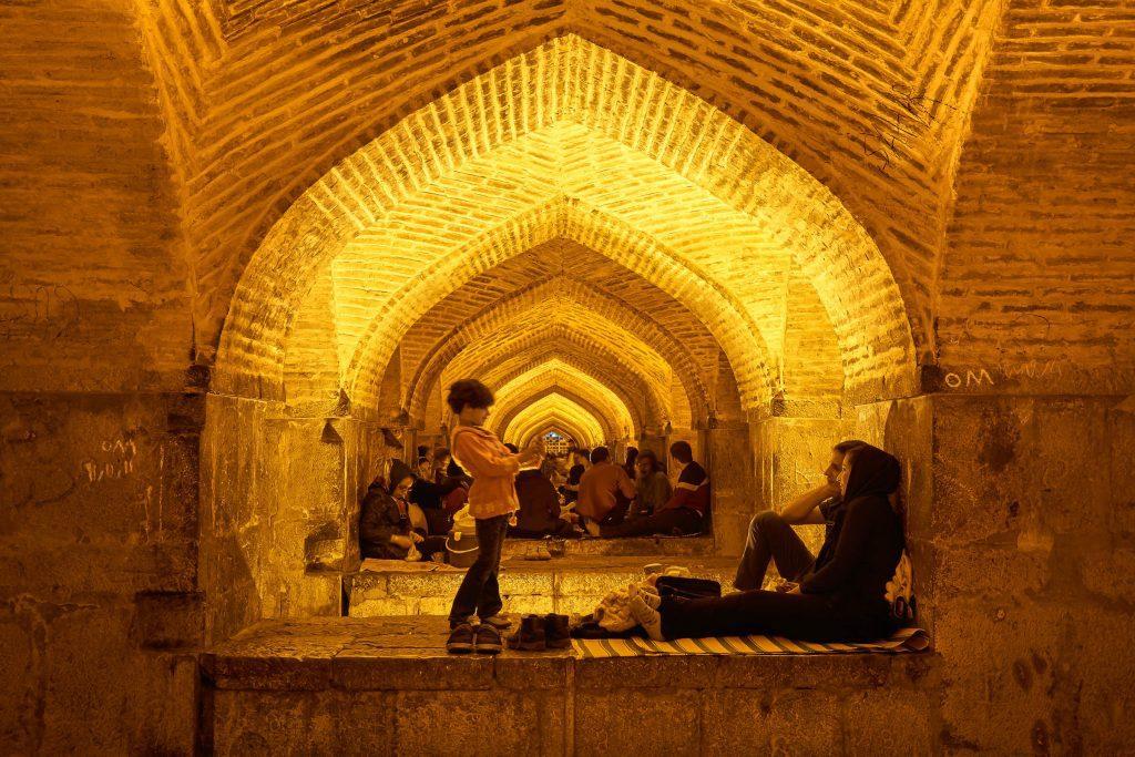 Khajou brug Esfahan, iran