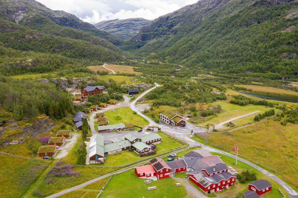 Luchtfoto noorwegen