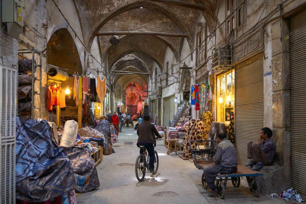 bazaar esfahan