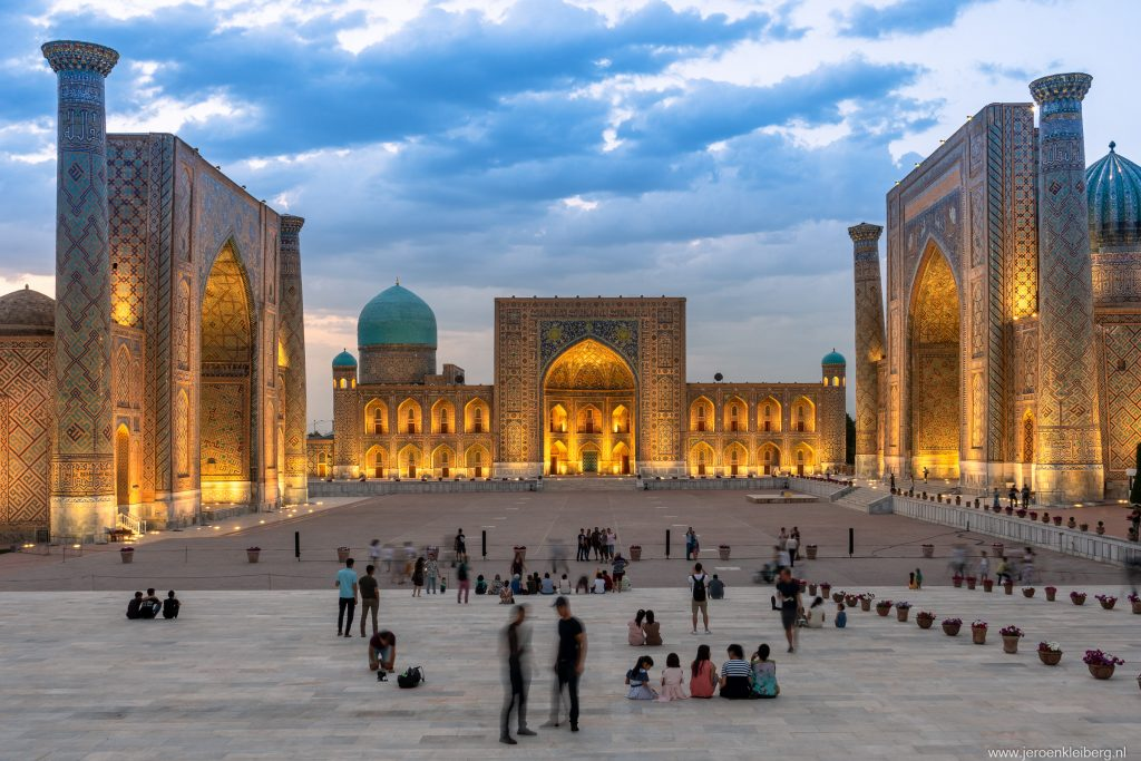 Het Registan in Samarkand